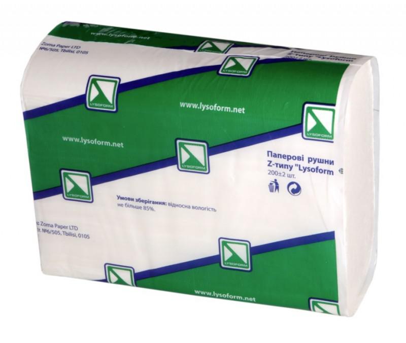 бумажные полотенца Z-типа