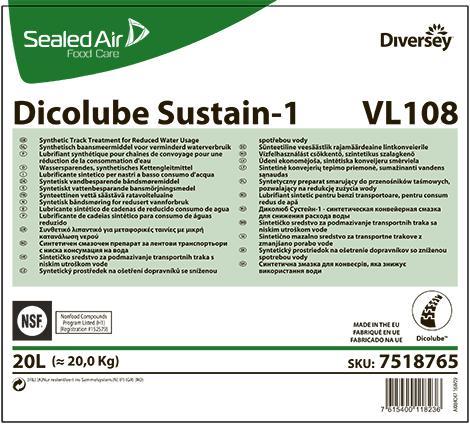 Dicolube Sustain -1 синтетическая смазка