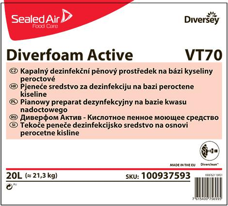 Диверформ актив кислотное пенное