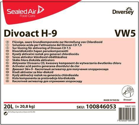 Divoact H-9 кислотный активатор