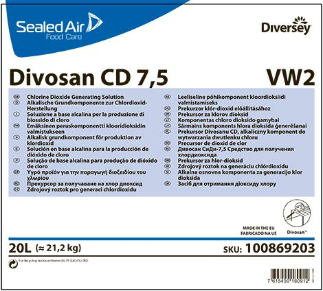 Divosan CD 7,5 средство для получения диоксида хлора