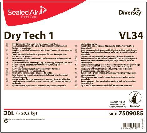 Dry tech 1 сухая смазка